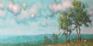 18 X 36 - Acrylic on Canvas