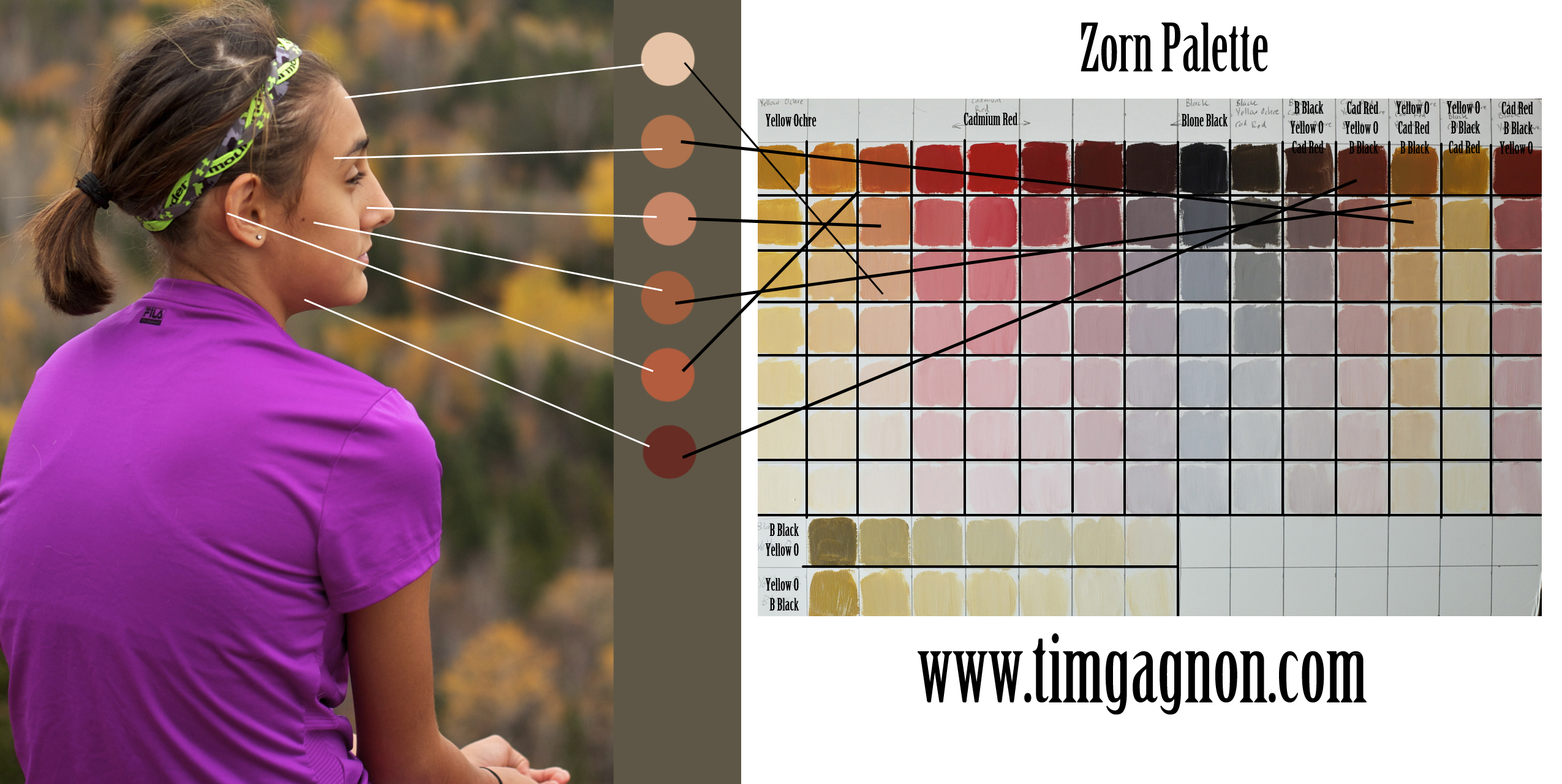 Making The Color Palette For Skin Tones A Bit Easier
