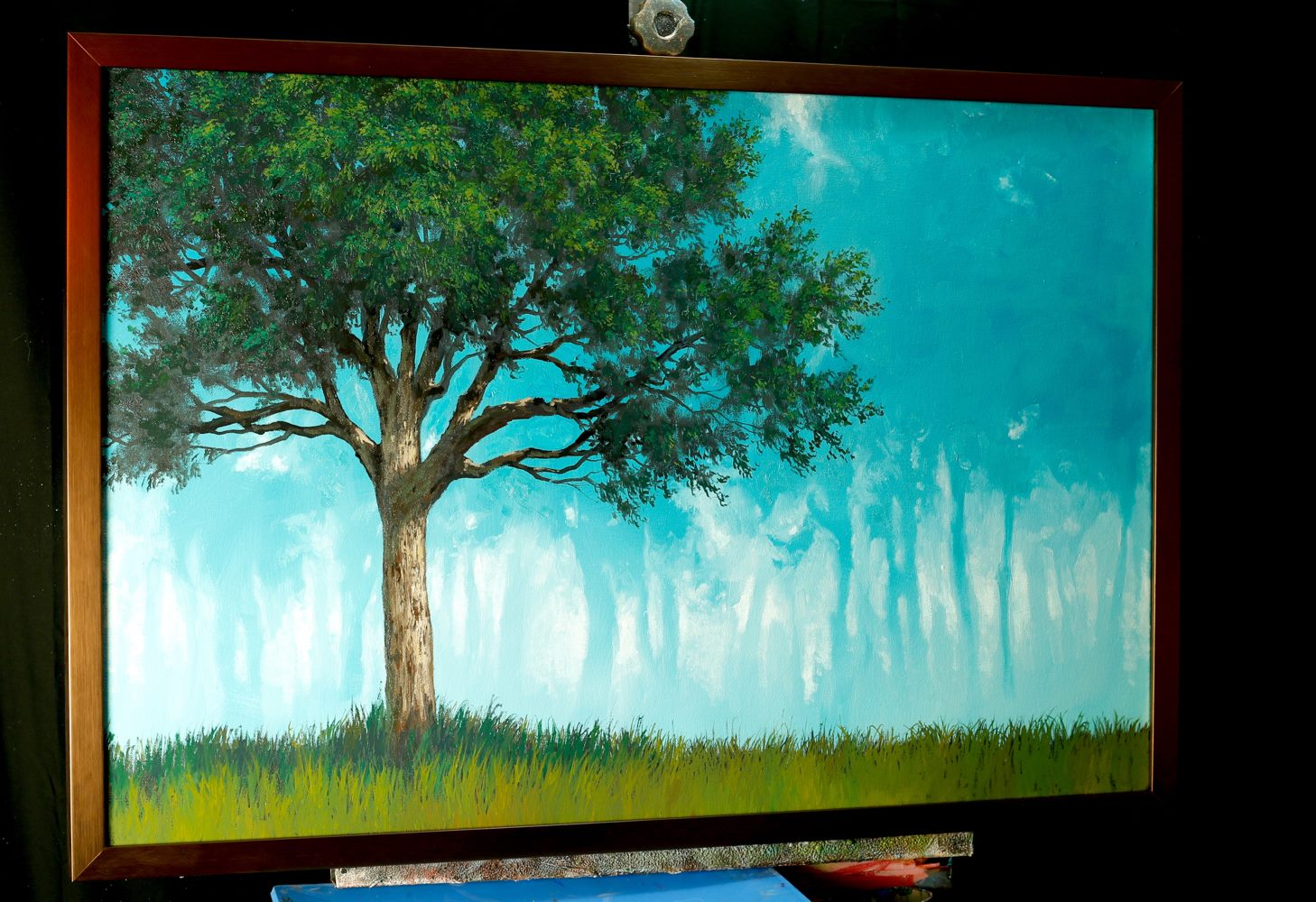 How to paint a Misty Forest Oil Painting | Tim Gagnon Studio