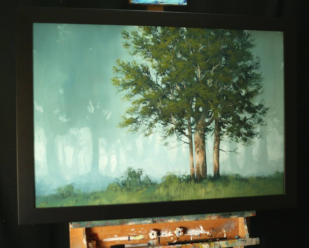 Learn misty forest paintings on DVD | Tim Gagnon Studio